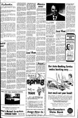 The Sioux County Capital from Orange City, Iowa on April 13, 1972 · Page 7