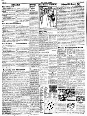Alton Evening Telegraph from Alton, Illinois on June 24, 1960 · Page 4