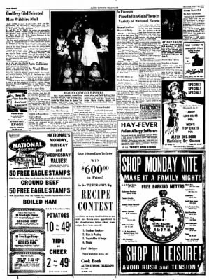 Alton Evening Telegraph from Alton, Illinois on July 25, 1960 · Page 8