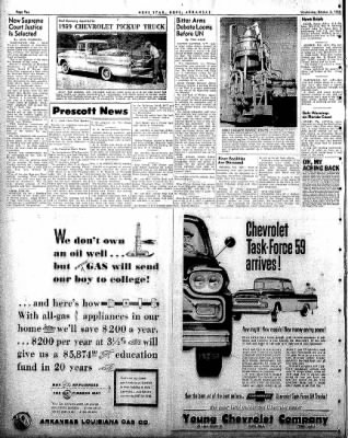 Hope Star from Hope, Arkansas on October 8, 1958 · Page 2
