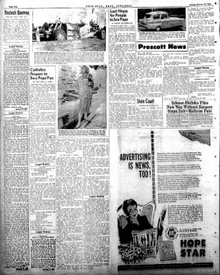 Hope Star from Hope, Arkansas on October 13, 1958 · Page 2