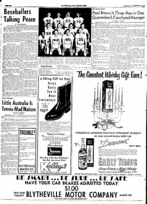 The Courier News from Blytheville, Arkansas on December 10, 1953 · Page 6
