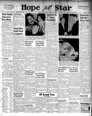 Hope Star from Hope, Arkansas on January 16, 1959 · Page 1