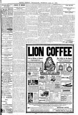 Alton Telegraph from Alton, Illinois on January 11, 1900 · Page 5