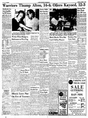Alton Evening Telegraph from Alton, Illinois on April 7, 1961 · Page 14