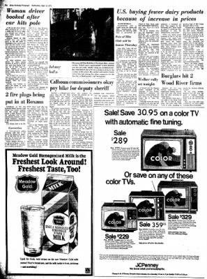 Alton Evening Telegraph from Alton, Illinois on September 6, 1972 · Page 12