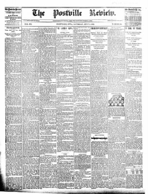The Postville Review from Postville, Iowa on July 9, 1892 · Page 1