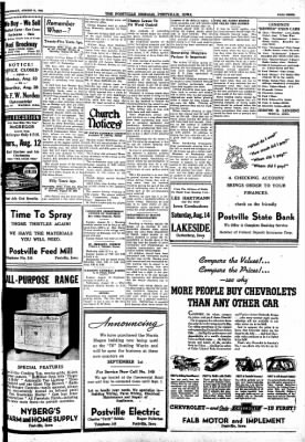 Postville Herald from Postville, Iowa on August 11, 1948 · Page 3