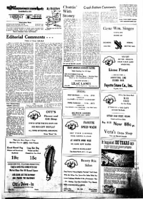 Fayette County Leader from Fayette, Iowa on June 21, 1962 · Page 2