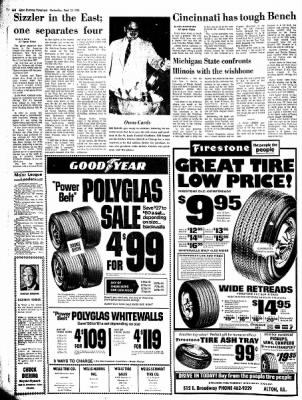 Alton Evening Telegraph from Alton, Illinois on September 13, 1972 · Page 6