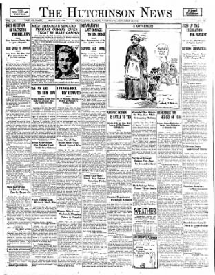 The Hutchinson News from Hutchinson, Kansas on November 12, 1924 · Page 1