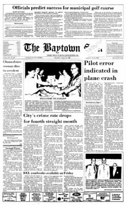 The Baytown Sun from Baytown, Texas on August 20, 1987 · Page 1