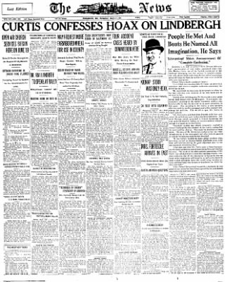 The News from Frederick, Maryland on May 17, 1932 · Page 1