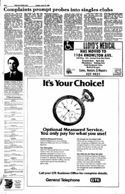 The Baytown Sun from Baytown, Texas on April 27, 1986 · Page 10