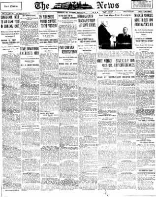 The News from Frederick, Maryland on May 26, 1932 · Page 1