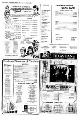 Lubbock Avalanche-Journal from Lubbock, Texas on April 6, 1975 · Page 10
