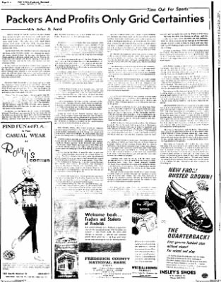 The News from Frederick, Maryland on September 8, 1967 · Page 16