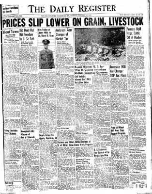 The Daily Register from Harrisburg, Illinois on February 10, 1948 · Page 1