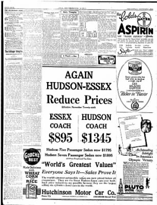 The Hutchinson News from Hutchinson, Kansas on December 3, 1924 · Page 4