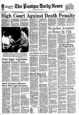 Pampa Daily News from Pampa, Texas on June 29, 1972 · Page 1