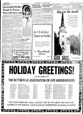 The Courier News from Blytheville, Arkansas on December 23, 1953 · Page 12