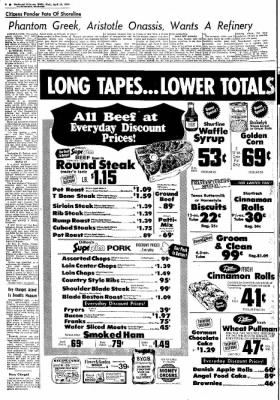 Northwest Arkansas Times from Fayetteville, Arkansas on April 24, 1974 · Page 6