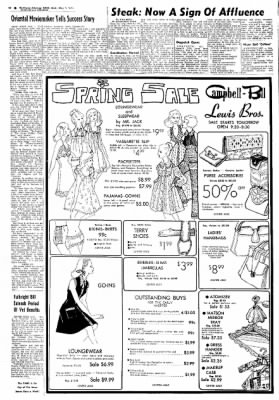 Northwest Arkansas Times from Fayetteville, Arkansas on May 1, 1974 · Page 21