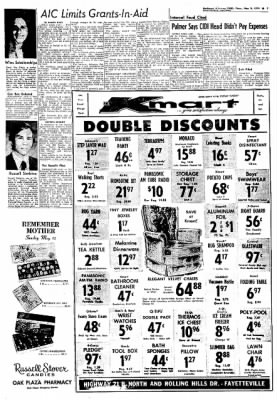 Northwest Arkansas Times from Fayetteville, Arkansas on May 9, 1974 · Page 7