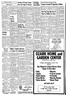 Northwest Arkansas Times from Fayetteville, Arkansas on June 23, 1974 · Page 2
