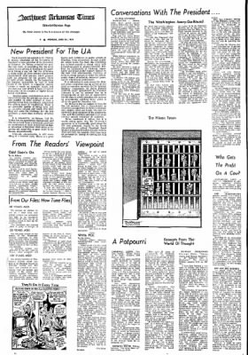 Northwest Arkansas Times from Fayetteville, Arkansas on June 24, 1974 · Page 4