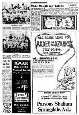 Northwest Arkansas Times from Fayetteville, Arkansas on June 27, 1974 · Page 14