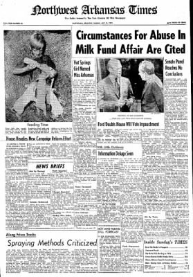 Northwest Arkansas Times from Fayetteville, Arkansas on July 14, 1974 · Page 1