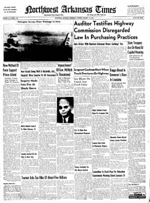 Northwest Arkansas Times from Fayetteville, Arkansas on January 16, 1952 · Page 1