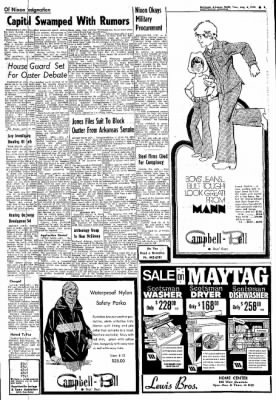 Northwest Arkansas Times from Fayetteville, Arkansas on August 6, 1974 · Page 5