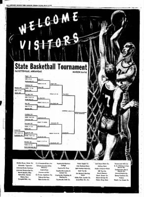 Northwest Arkansas Times from Fayetteville, Arkansas on March 8, 1952 · Page 6