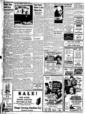 Northwest Arkansas Times from Fayetteville, Arkansas on March 21, 1952 · Page 10