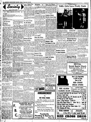 Northwest Arkansas Times from Fayetteville, Arkansas on March 28, 1952 · Page 2