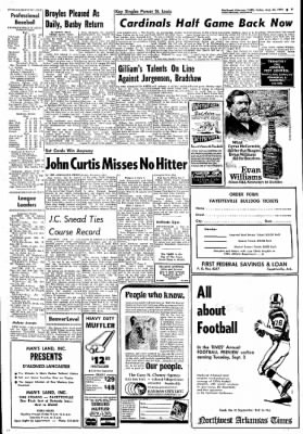 Northwest Arkansas Times from Fayetteville, Arkansas on August 30, 1974 · Page 9