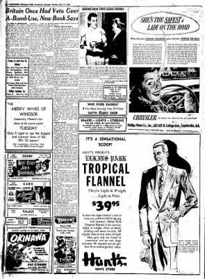 Northwest Arkansas Times from Fayetteville, Arkansas on April 21, 1952 · Page 12