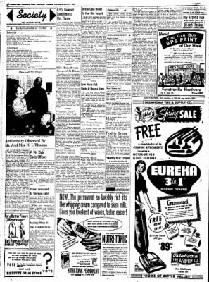 Northwest Arkansas Times from Fayetteville, Arkansas on April 23, 1952 · Page 2