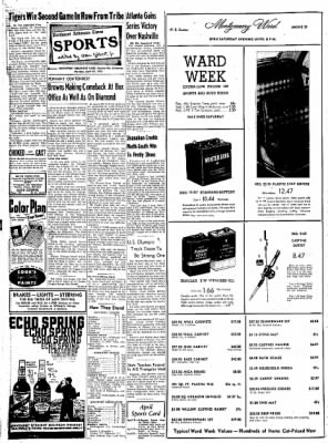 Northwest Arkansas Times from Fayetteville, Arkansas on April 28, 1952 · Page 8