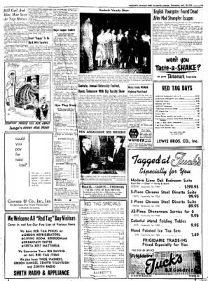 Northwest Arkansas Times from Fayetteville, Arkansas on April 30, 1952 · Page 15