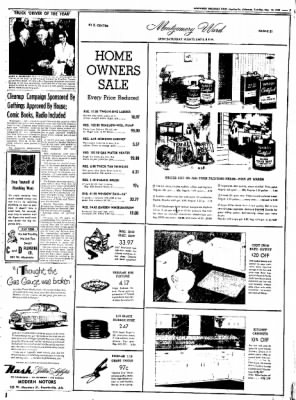 Northwest Arkansas Times from Fayetteville, Arkansas on May 13, 1952 · Page 7