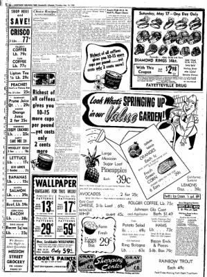 Northwest Arkansas Times from Fayetteville, Arkansas on May 15, 1952 · Page 10