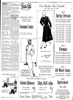 Northwest Arkansas Times from Fayetteville, Arkansas on May 26, 1952 · Page 3