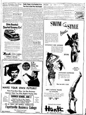 Northwest Arkansas Times from Fayetteville, Arkansas on May 27, 1952 · Page 3