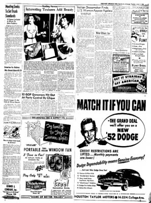 Northwest Arkansas Times from Fayetteville, Arkansas on June 3, 1952 · Page 7