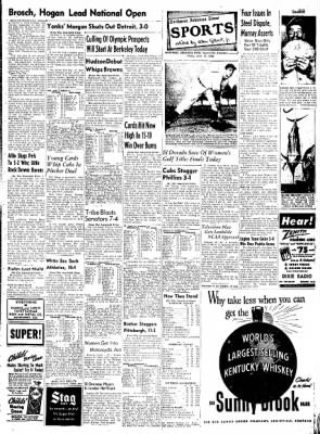 Northwest Arkansas Times from Fayetteville, Arkansas on June 13, 1952 · Page 7