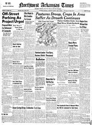 Northwest Arkansas Times from Fayetteville, Arkansas on June 25, 1952 · Page 1
