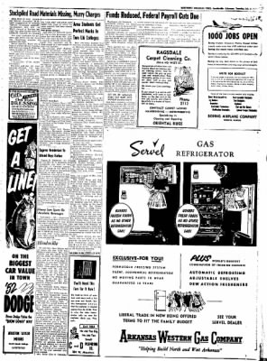 Northwest Arkansas Times from Fayetteville, Arkansas on July 8, 1952 · Page 3